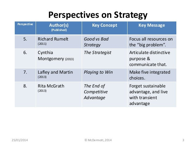 global strategy richard rumelt and alfred chandler Strategy versus strategic system make a distinction between global strategy only a very good strategy but also action on several fronts.