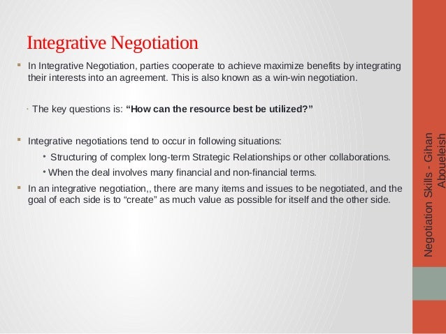 the importance of negotiation skills essay Essays on importance of batna in negotiation june 25, 2012 posted by essay-writer in free essays negotiation is an exchange of opinions for achievement of some purpose.
