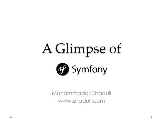 A Glimpse of Muhammadali Shaduli www.shaduli.com
