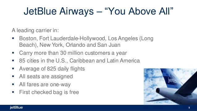 case study jetblue airlines Faculty & research case studies jetblue airways jetblue airways, a new beginning jetblue airways, a new beginning by david hoyt, charles o jetblue.