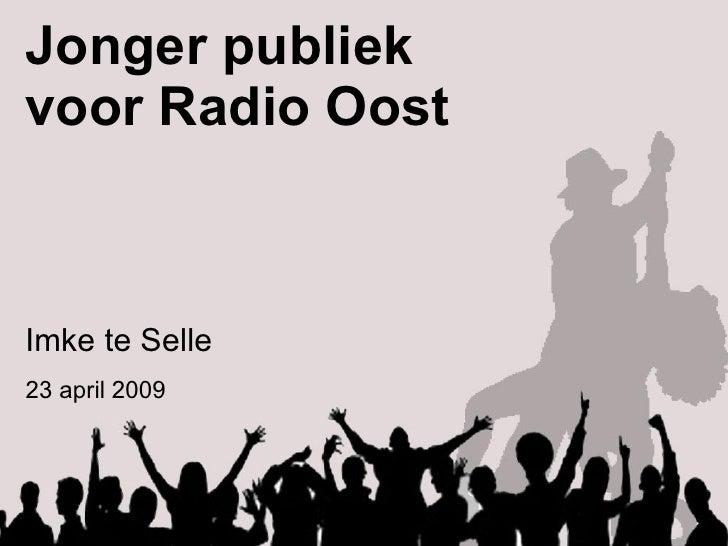 Master - Jonger Publiek Voor Radio Oost