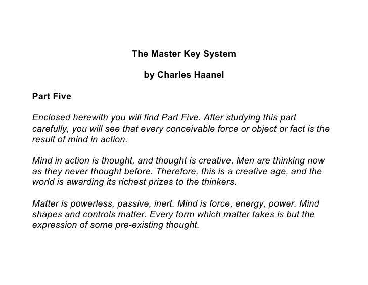 Master key system   part 05