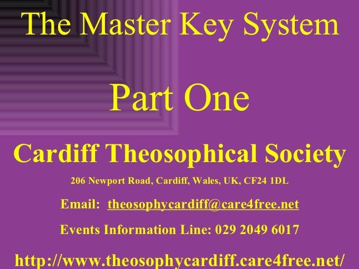 Master key system lesson 1