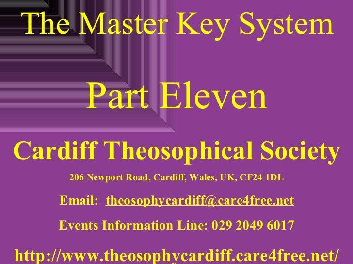 Master key system lesson 11