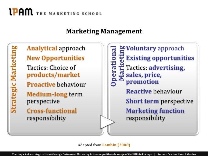 Management marketing master thesis