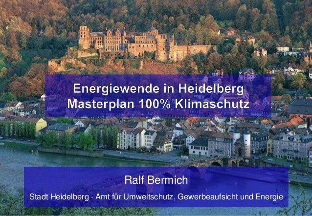 Ralf BermichStadt Heidelberg - Amt für Umweltschutz, Gewerbeaufsicht und Energie