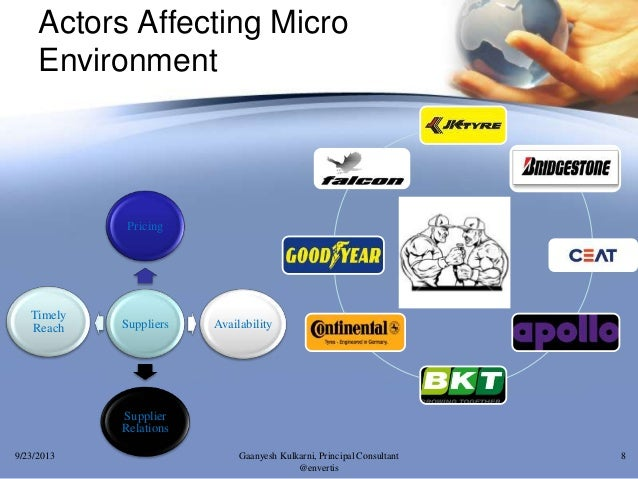 macro environmental factors affecting maruti Marketing macro environment:demographic environment the economic environment includes those factors that affect consumer purchasing power and spending.