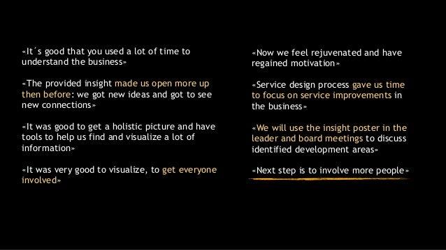 Service design master thesis