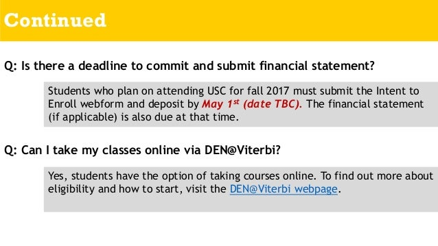What are my chances at USC?
