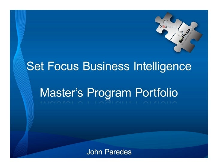 This portfolio showcases the work I performed during my participation in the Business Intelligence Masters program from Se...
