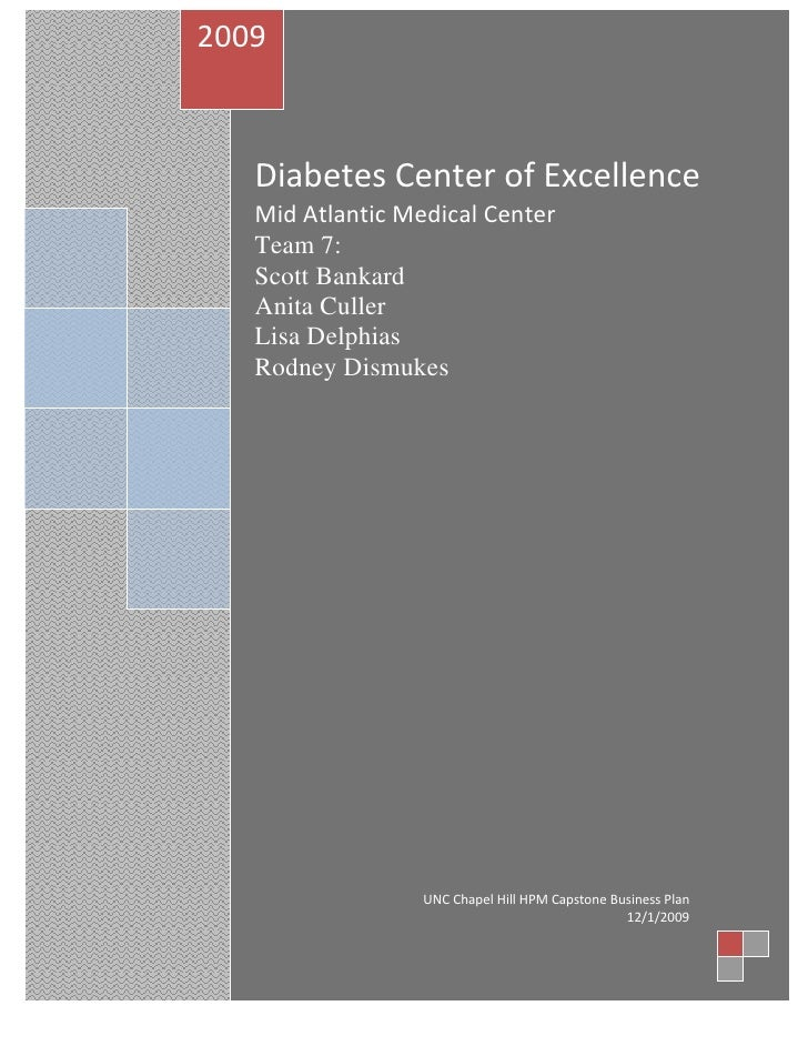 Master's Thesis - Diabetes Center of Excellence
