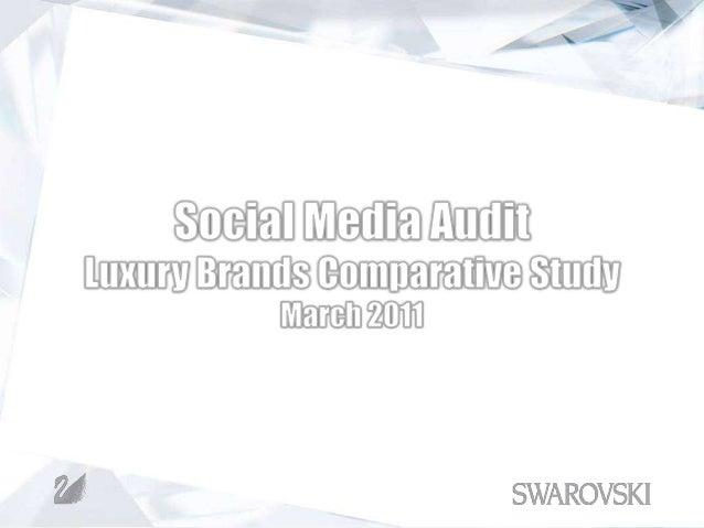 Comparative Brand Audit Sample