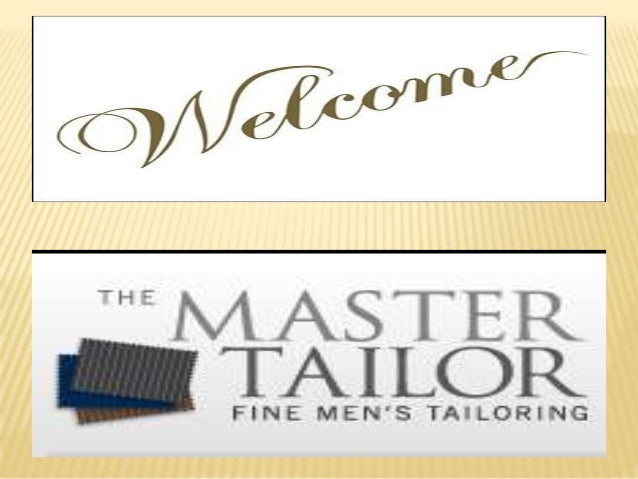 ABOUT THE MASTER TAILOR The MasterTailor brand values stand for tailoring style, quality, convenience and perfection of fi...
