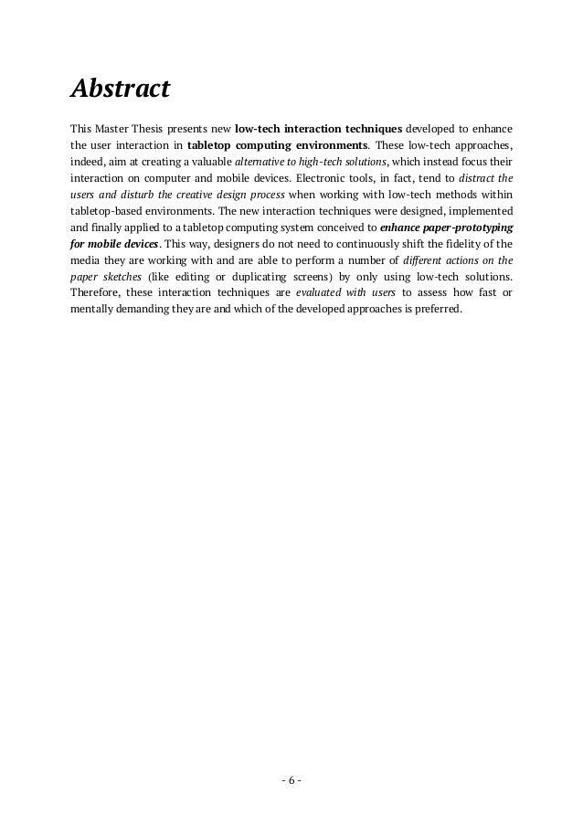 Masters Application Essays