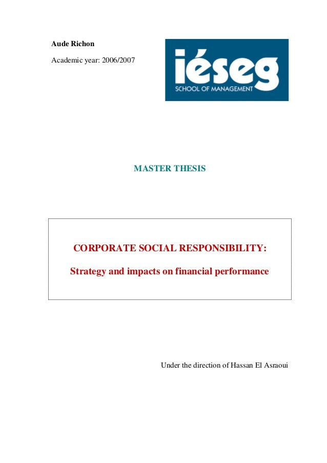 thesis on financial performance Correlation study between measures of financial performance of banks in (country name)  research topic list of finance, thesis topics in finance.