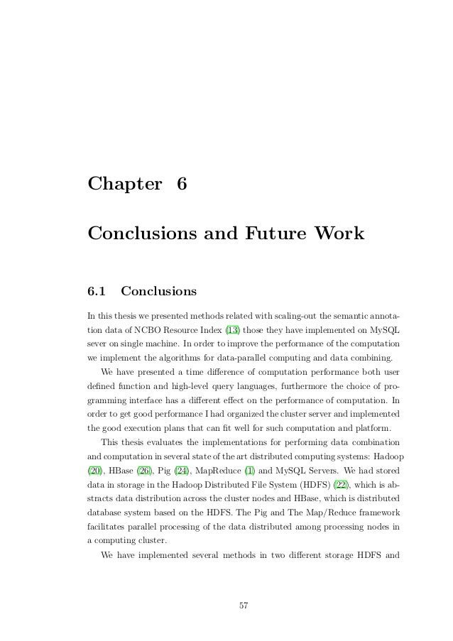 Master thesis annotation