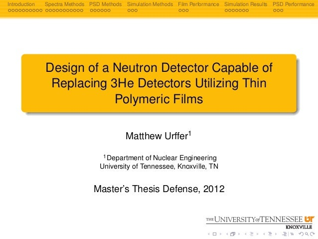 preface of master thesis