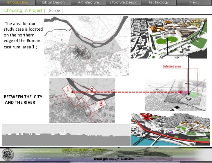 Urban design thesis report