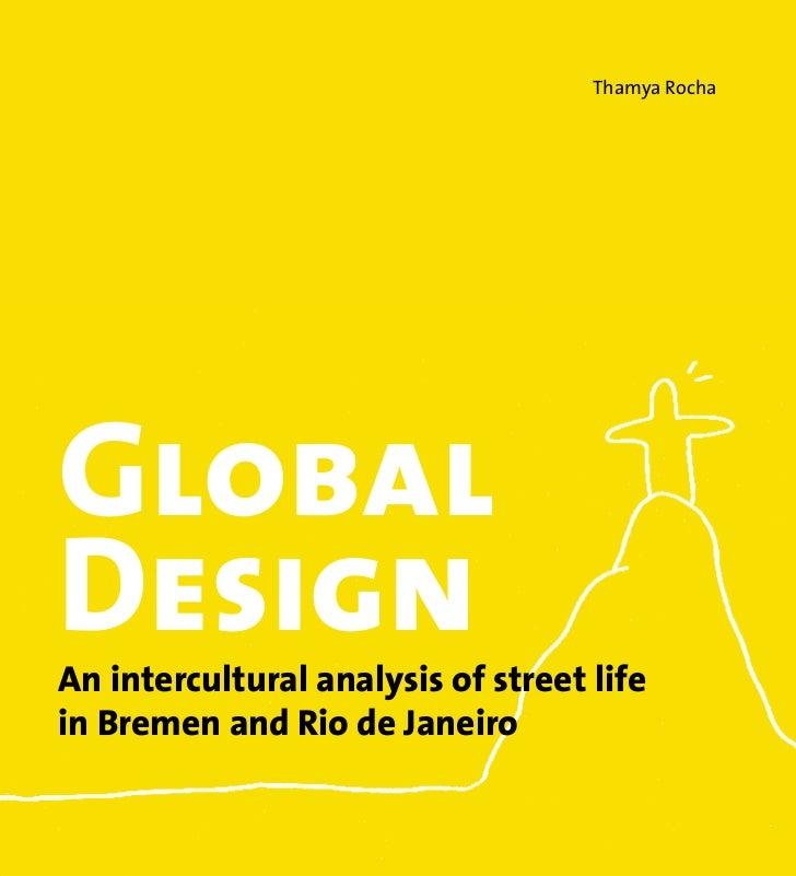 Global Design: an intercultural analysis of street life in Bremen and Rio de Janeiro