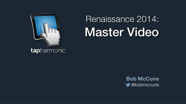 Master Video with AV Foundation