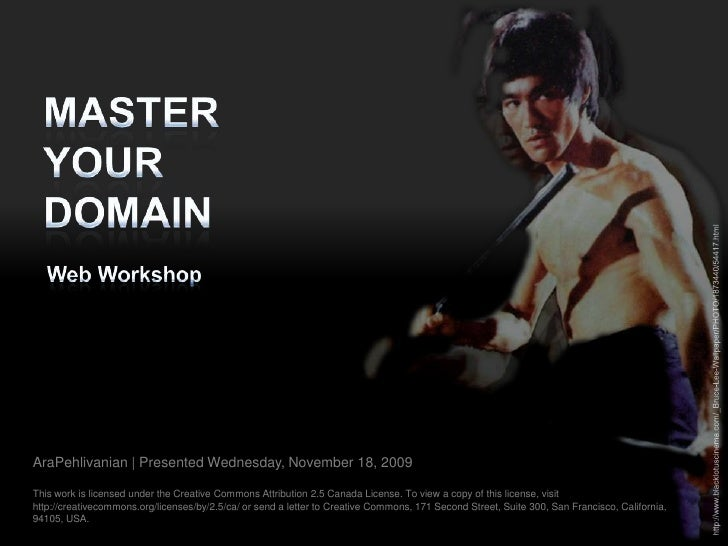 Master your domain