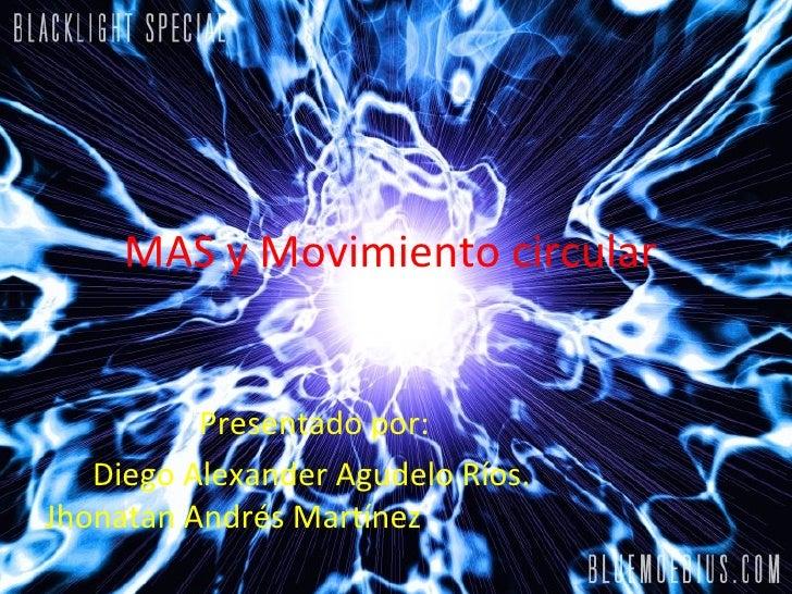 Mas Y Movimiento Circular