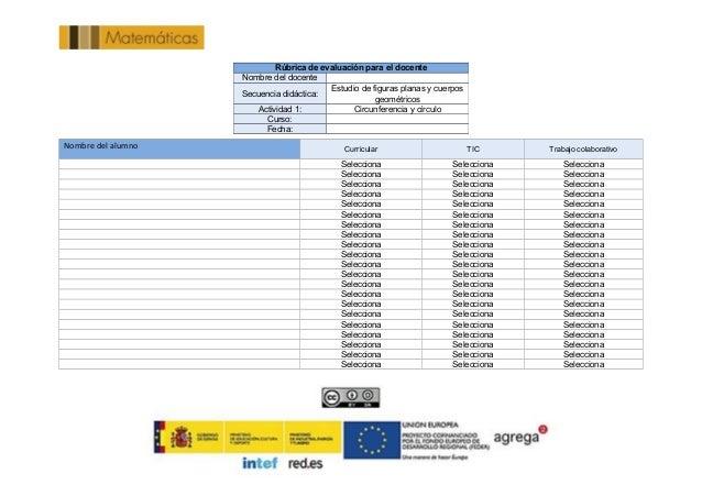 Nombre del alumno Curricular TIC Trabajo colaborativo  Selecciona Selecciona Selecciona  Selecciona Selecciona S...