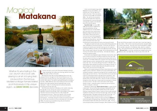 Matakana, Travel Digest, June 2012