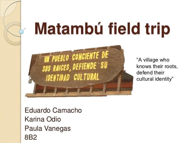Matambú  english proyect