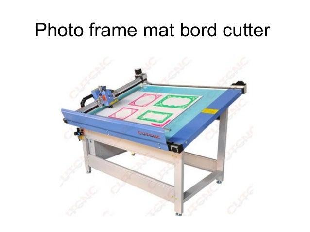 matboard photo frame CNC cutter