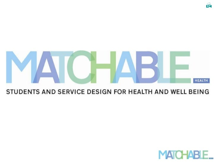 Matchable: students, service-design, and health & well-being organisations