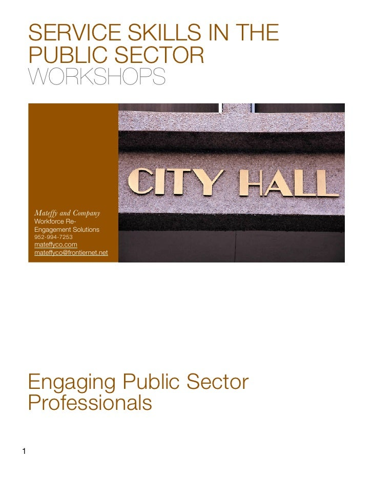 Mateffyco Service In The Public Sector Catalog