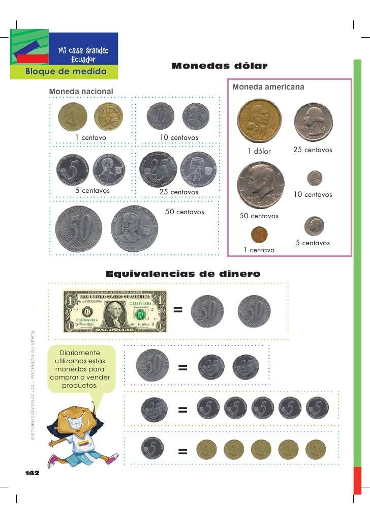 Diez Centavos de Dolar 10 Centavos 1 Dólar 25