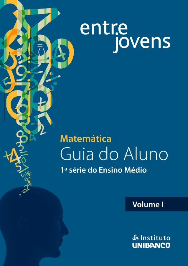GUIA DO ALUNO Volume 1 Matemática 1ª série do Ensino Médio