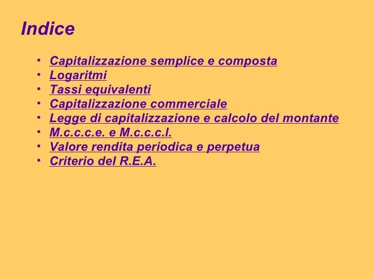Matematica finanziaria - Calcolo valore immobile commerciale ...