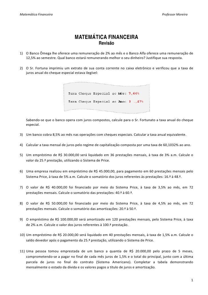 Matematica lista 9 -_revis_o