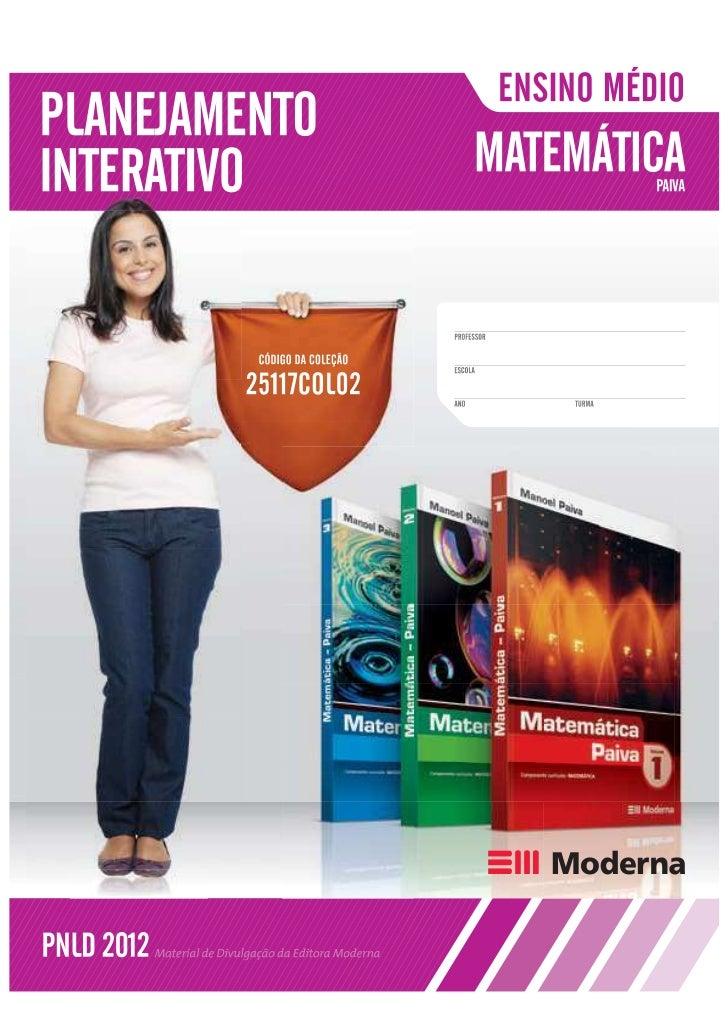 Matematica Paiva - Planejamento Interativo