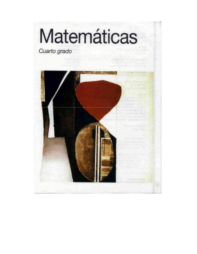 Matem ticas cuarto grado 1993 for Espanol lecturas cuarto grado 1993