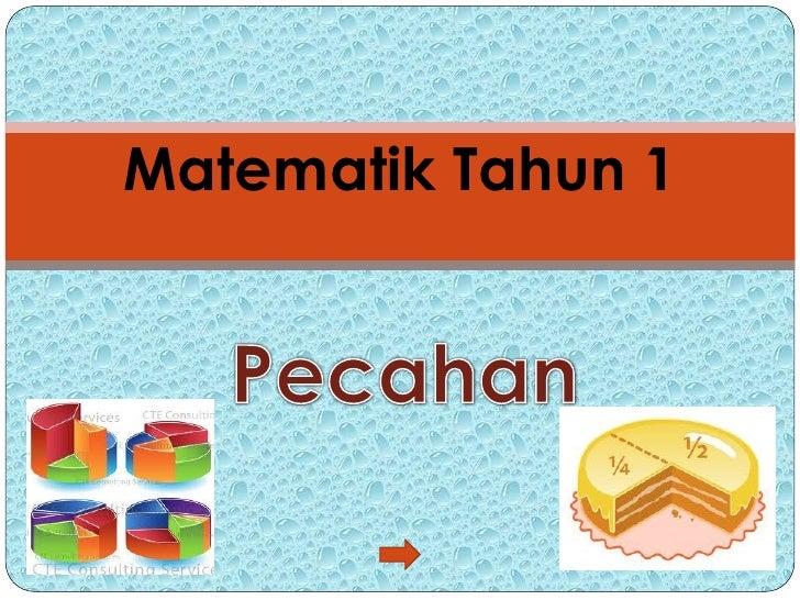 Matematik Tahun 1
