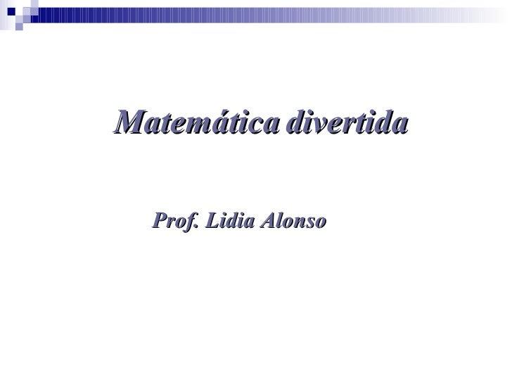 MatemáTica Divertida 1