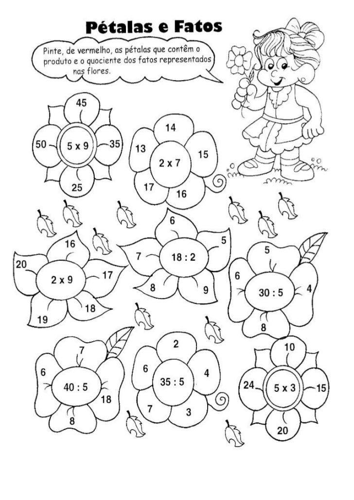 Matemática   multiplicação e divisão