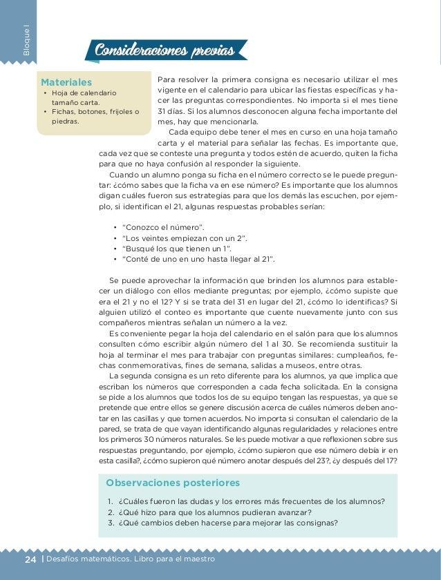 Libro Del Maestro De Matemticas 2 Grado