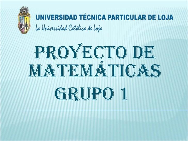 MatemáTicas Diapositivas