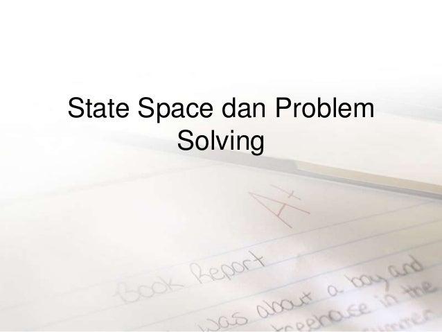 Materi2 problem solving