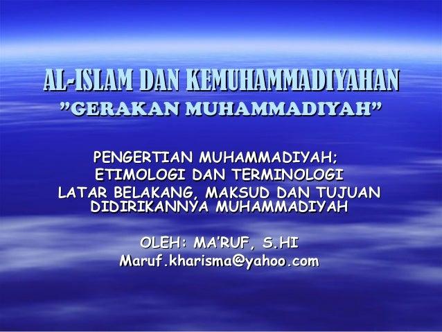Gerakan Muhammadiyah