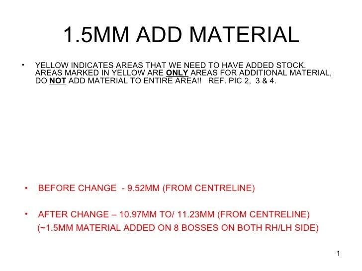 Material Addition&Tillerdata