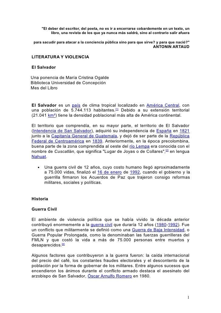 Material El Salvador Ogalde