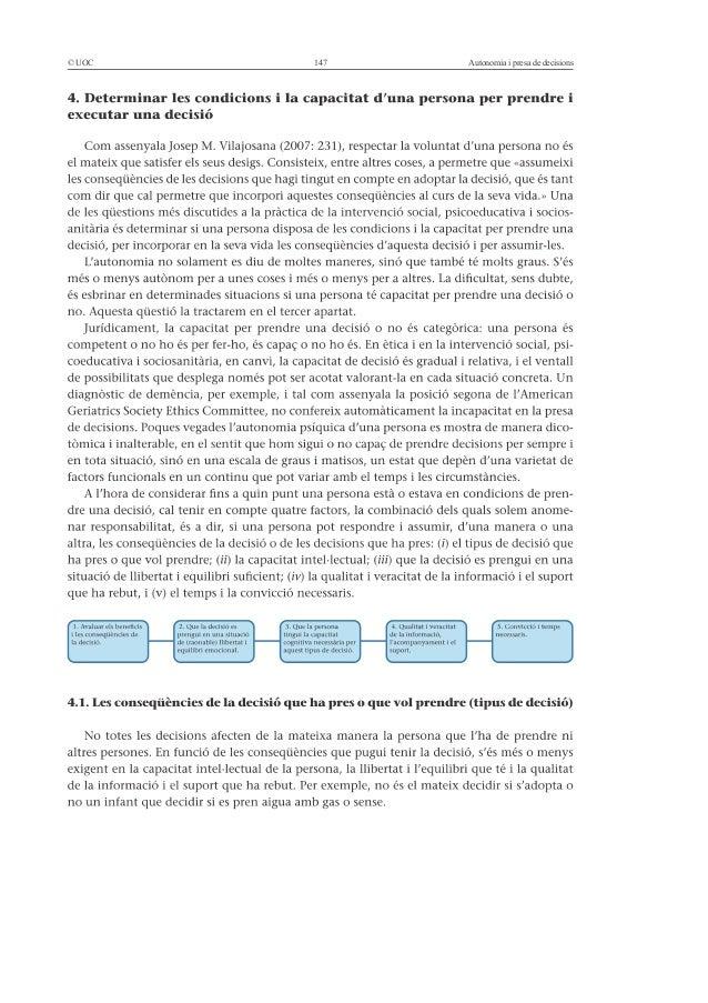 © UOC   147   Autonomia i presa de decisions
