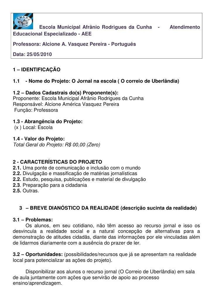 Escola Municipal Afrânio Rodrigues da Cunha – EMARC -<br />Trabalhos realizados pelos alunos do Atendimento Educacional Es...