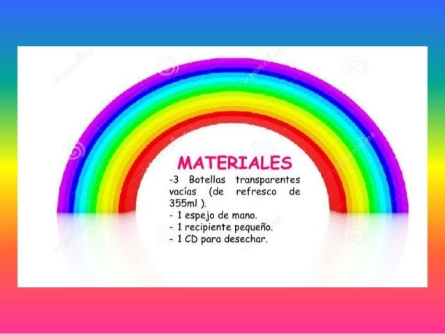 Recolección de materiales 3B (Hagamos un arcoiris)